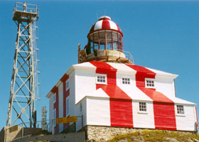 Lighthouse at Cape Bonavista