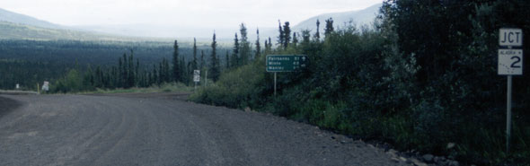 South end of Dalton Highway