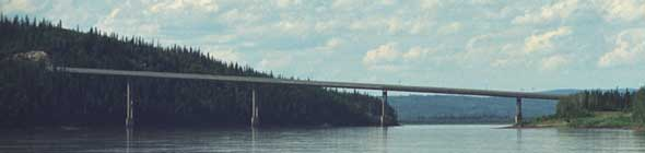 Bridge over the Yukon River