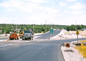 Outer Ring Highway construction wrapping up at exit 50